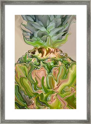A Juiced Pineapple.. Framed Print