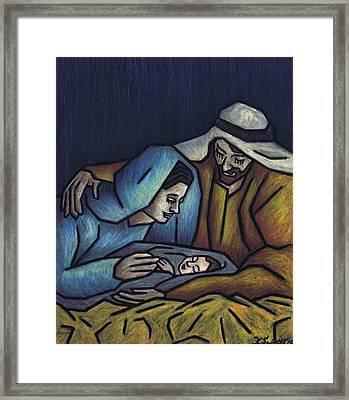 A King Is Born Framed Print