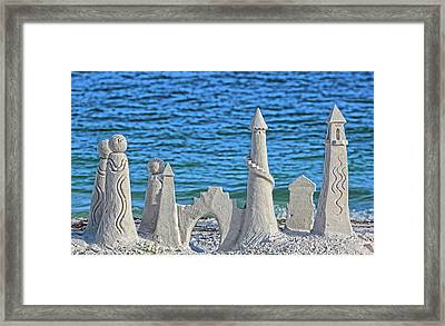 A Kingdom By The Sea Framed Print by HH Photography of Florida