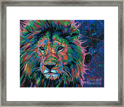 A King's Gaze Framed Print