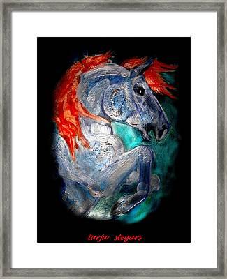 A Knights Dream I Framed Print