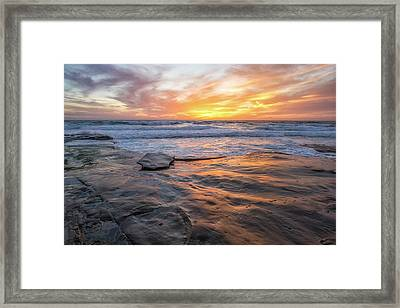 A La Jolla Sunset #2 Framed Print
