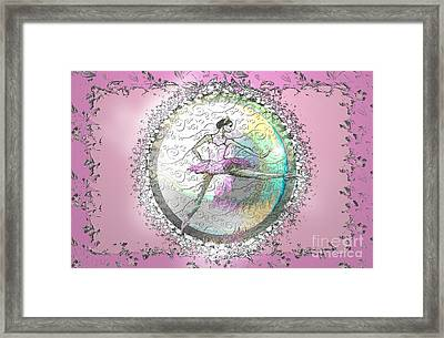 A La Second Pink Variation Framed Print by Cynthia Sorensen