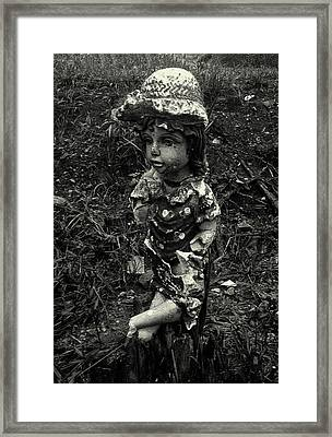 Framed Print featuring the photograph A Lady by Amarildo Correa