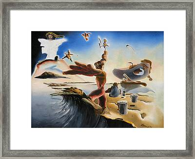 A Last Minute Apocalyptic Education Framed Print by Dave Martsolf