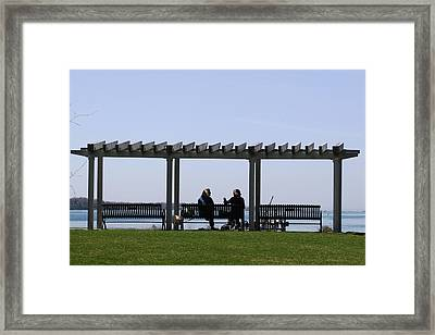A Lazy Day Framed Print by Paul SEQUENCE Ferguson             sequence dot net