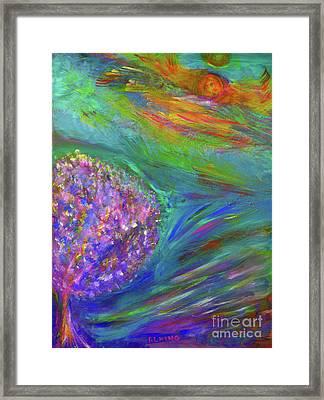 A Leap Of Faith Framed Print