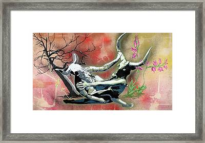 A Life Long Battle To Stay Alive Framed Print by Tai Taeoalii