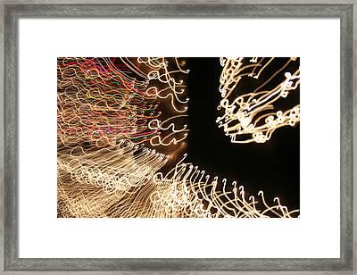 A Light Abstraction Framed Print