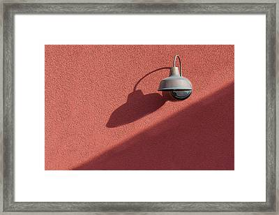 Framed Print featuring the photograph A Light Alone by Paul Wear
