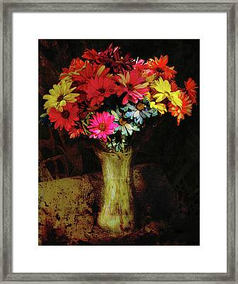 A Light Shines Into The Darkness Of My Soul 2 Framed Print