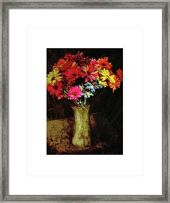 A Light Shines Into The Darkness Of My Soul Framed Print