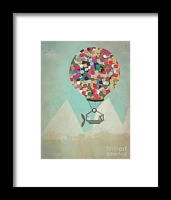 Arctic Air Framed Prints