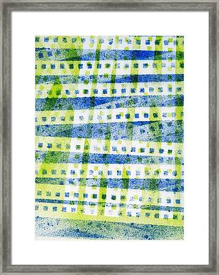 A Little Bit Of Chaos Framed Print by Lori Kingston