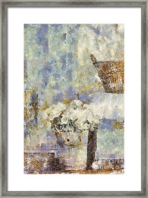 A Little Bit Of Country Framed Print by Shirley Stalter