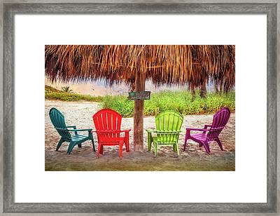 A Little Bit Of Island Attitude Framed Print
