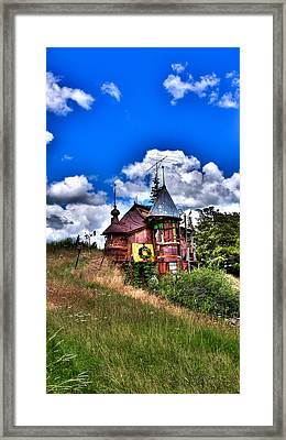 A Little Bit Of Oz In Palouse Country Framed Print