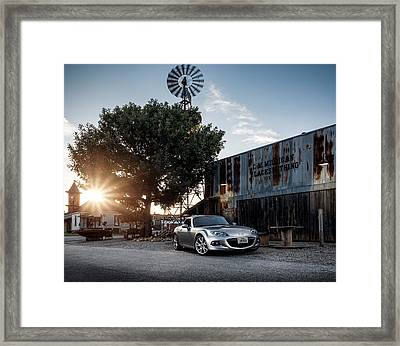 Little Drop Of Sunshine Framed Print by Douglas Pittman