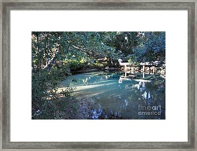 A Little Heaven On Earth Framed Print