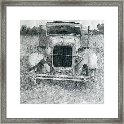 A Little Loopy Framed Print by David King