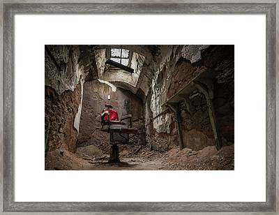 A Little Off The Top Framed Print by Kristopher Schoenleber