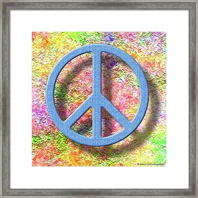 A Little Peace Framed Print by Cristophers Dream Artistry