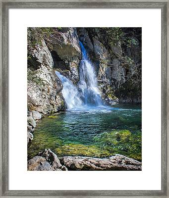 A Little Piece Of Paradise Framed Print