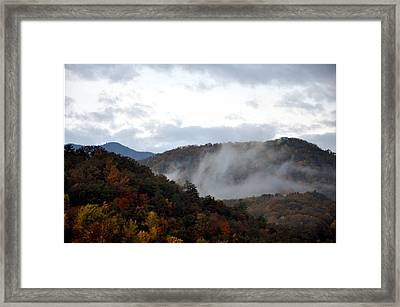 A Little Smoky Framed Print by Brittany H