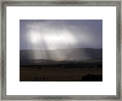 A Little Sun Must Shine Framed Print