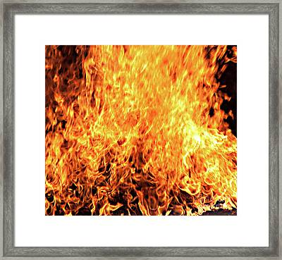 A Little Too Much Energy Framed Print