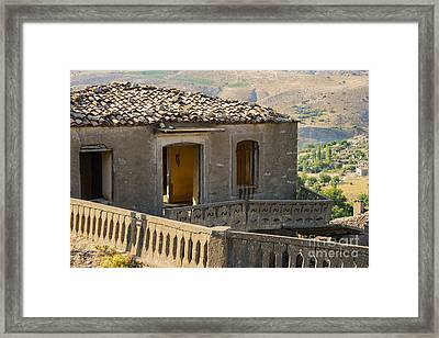 A Little Unstable For Me Framed Print