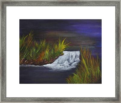 A Little Wild Framed Print