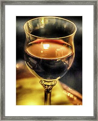 A Little Wine Framed Print by C H Apperson
