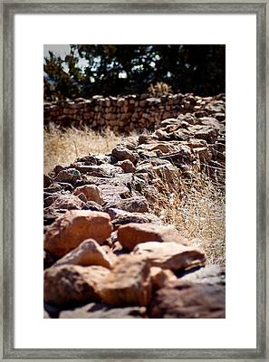 A Living Past Framed Print by Kandie  Kingery