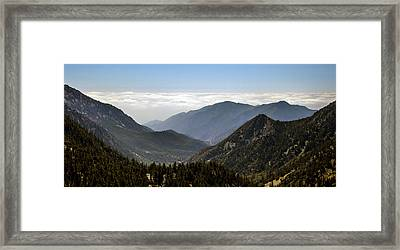 A Lofty View Framed Print