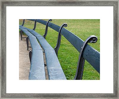 A Long Sit Down Framed Print