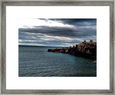 A Long The Shore 3 Framed Print