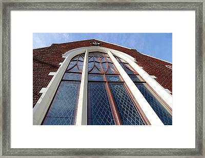 A Long View Framed Print