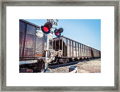 A Long Wait Framed Print