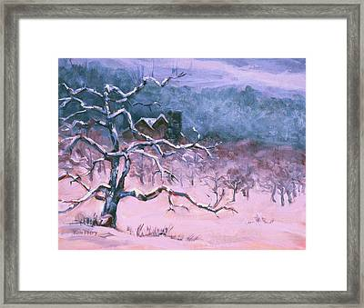 A Long Winter's Nap Framed Print