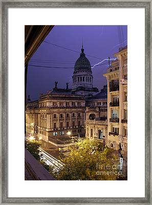 A Look Outside Framed Print by Balanced Art