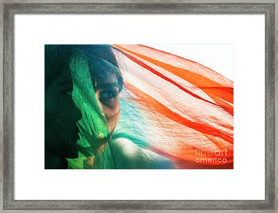 A Look Within Framed Print by Tim Gainey