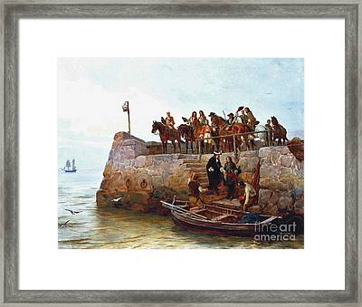 A Lost Cause Framed Print by MotionAge Designs