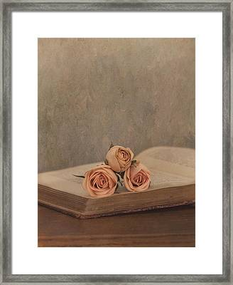 A Love Story Framed Print