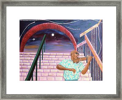 Framed Print featuring the painting A Love Supreme by Kevin Callahan