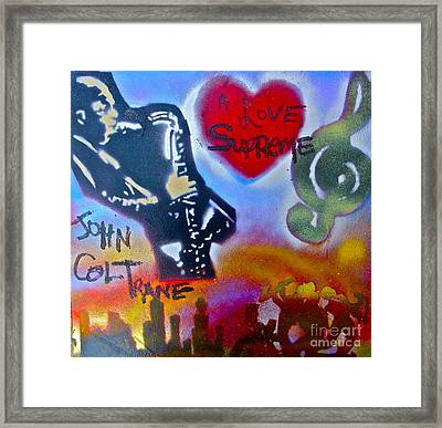 A Love Supreme Framed Print by Tony B Conscious