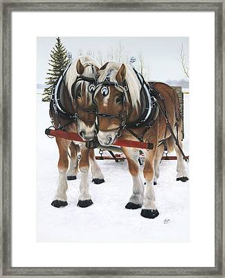 A Loving Union Framed Print
