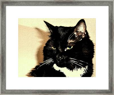 A Maggie Moment Framed Print