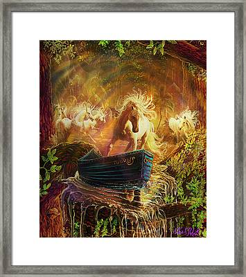 A Magical Boat Ride Framed Print