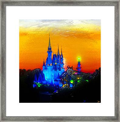 A Magical Land Framed Print by David Lee Thompson